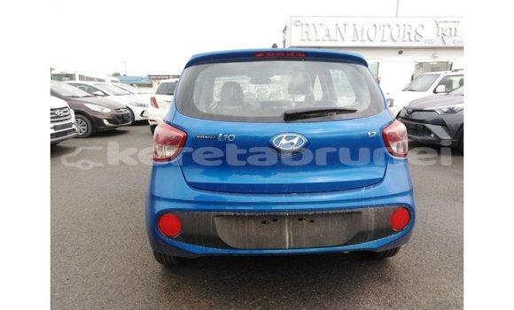 Buy Import Hyundai i10 Blue Car in Import - Dubai in Belait